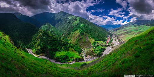 Июнь в Горной Ингушетии