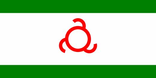 Ингушский флаг 1994-2002