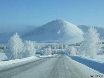 Ингушетия зимой